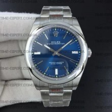 Rolex Oyster Perpetual Blue 39mm 114300