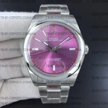 Rolex Oyster Perpetual Red Grape 39mm 114300