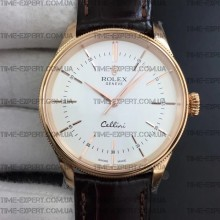 Rolex Cellini 50509 Gold-White