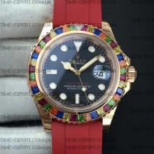 Rolex Yacht-Master 116695 Diamond Red-Rubber