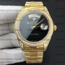 Rolex Day-Date 41 Diamond Bezel