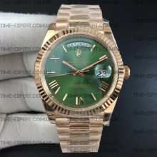 Rolex Day-Date 40 228235 Green Dial