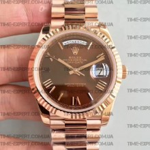 Rolex Day-Date 40 228235 Brown Dial