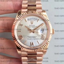 Rolex Day-Date 40 228235 Silver Dial