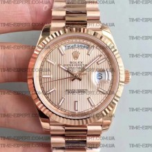 Rolex Day-Date 40 228235 Rose Gold Dial
