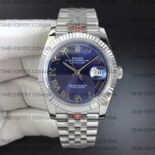 Rolex DateJust 36 126234 Blue Dial Roman Markers