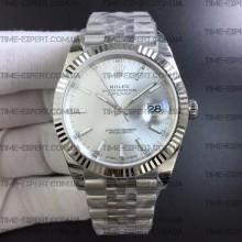 Rolex DateJust 41 126334 Silver Dial on Jubilee Bracelet