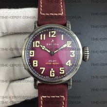 Zenith Pilot Type 20 Extra Special 40mm Vintage Case Pink