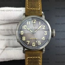 Zenith Pilot Type 20 Extra Special 40mm Vintage Case Brown