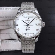 Omega De Ville 41mm Hour Vision White Dial on Bracelet