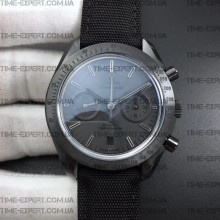 "Omega Speedmaster ""Dark Side of The Moon"" Black on Nylon Strap"