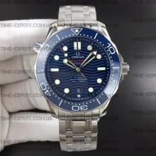 Omega Seamaster Diver 42mm Diver 300M Blue Dial on Bracelet 8800