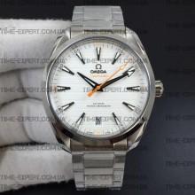 Omega Aqua Terra 150M 41mm Master Chronometers White Dial on Bracelet 8900