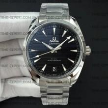 Omega Aqua Terra 150M 41mm Master Chronometers Black Dial on Bracelet 8900