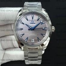 Omega Aqua Terra 150M 41mm Master Chronometers Silver Dial on Bracelet 8900