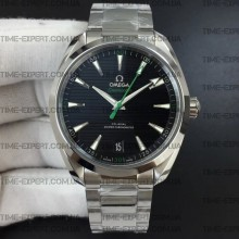 Omega Aqua Terra 150M 41mm Master Chronometers Black/Green Dial on Bracelet 8900