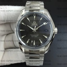 Omega Aqua Terra 150M 41mm Gray Textured Dial on Bracelet 8500