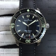 Blancpain Fifty Fathoms Titanium 45mm  Big Date Black