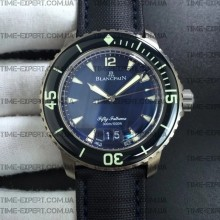 Blancpain Fifty Fathoms Titanium 45mm Big Date Blue