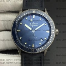 Blancpain Fifty Fathoms 43mm Bathyscaphe Titanium