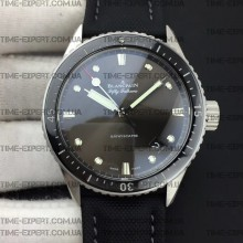 Blancpain Fifty Fathoms 43mm Bathyscaphe Steel-Gray