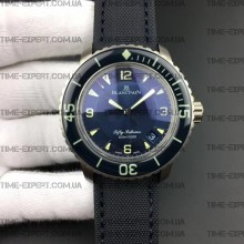Blancpain Fifty Fathoms 45mm Tribute to Aqua Lung Titanium Blue