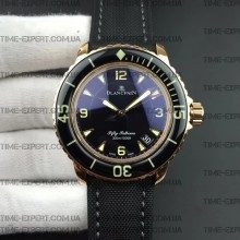 Blancpain Fifty Fathoms 45mm Steel-Gold