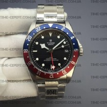 Tudor 41mm Black Bay GMT Pepsi Blue/Red