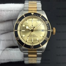 Tudor 41mm Heritage Black Bay Vintage Gold Dial on Bracelet