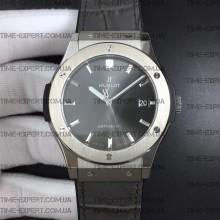 Hublot 45mm Classic Fusion Titanium Gray