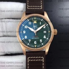 Iwc 39mm Pilot`s Spitfire Automatic BronzeRef.IW326802