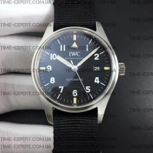 "Iwc 40mm Pilot`s Mark XVIII ""TRIBUTE TO MARK XI"" Stainless steel Black Ref.IW327007"