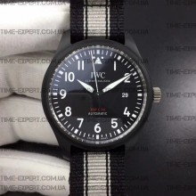 Iwc 40mm Pilot`s Top Gun Ceramic Black Dial  Ref.IW326901