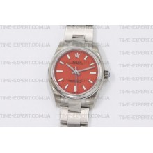 Rolex Oyster Perpetual Red 31mm 277200
