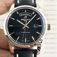 Breitling Transocean Day & Date Black